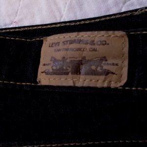Levi's Jeans - LEVI'S 550 Bootcut Womens Jean, Black W15 L32